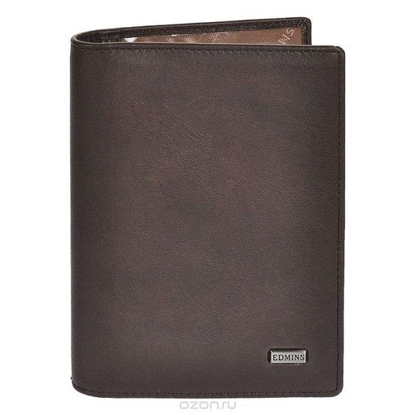 Обложка для автодокументов , цвет: серо-коричневый. 1896 ml/1n ed fumo, Edmins