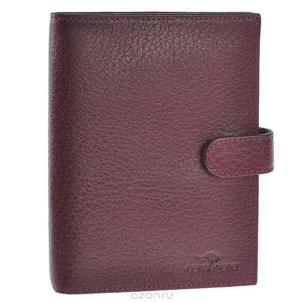 Обложка для документов , цвет: бордовый. 3141-012 f/burgundy, Cangurione