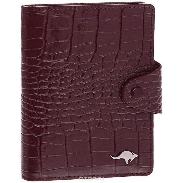 Обложка для автодокументов , цвет: бордовый. 3305-012 kr/burgundy, Cangurione