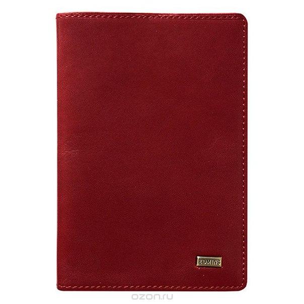 Обложка для паспорта , цвет: красный. 302 ml ed, Edmins