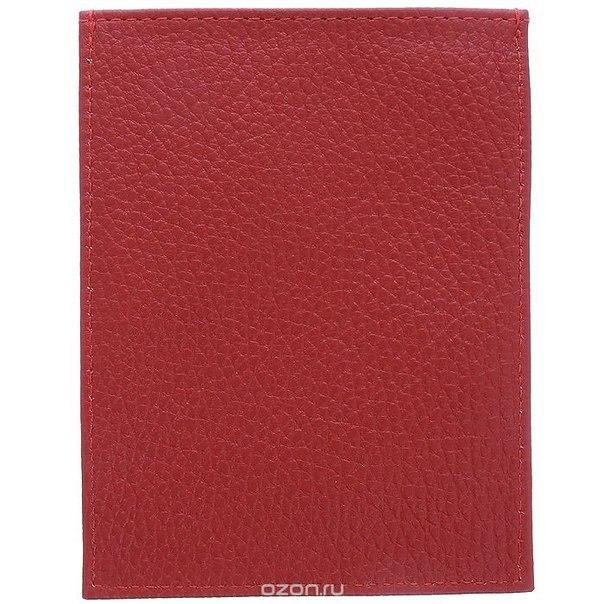 Обложка для паспорта , цвет: красный. 647369, Sima-land