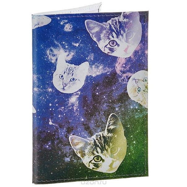 """Обложка для паспорта """"сны о кошках"""". ok195, Mitya Veselkov"""