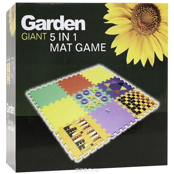 """Игровой набор garden """"5 в 1"""", Эврика"""