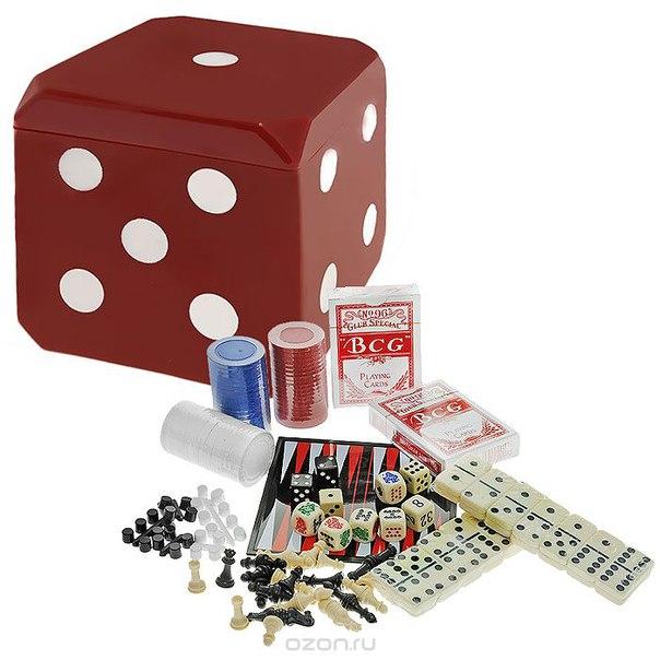 "Игровой набор 6 в 1 ""magnetic game cube"", магнитный. mg9044, Outcity International"