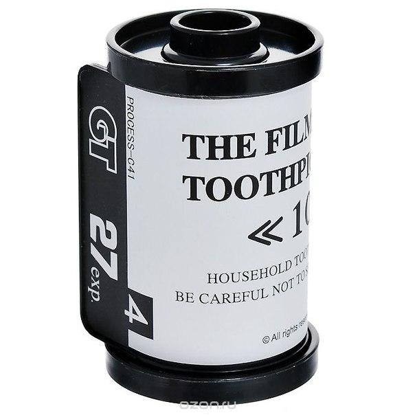 """Подставка для зубочисток """"кассета для фотопленки"""", цвет: белый. 94578, Эврика"""