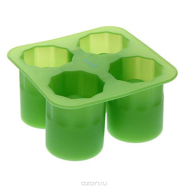 """Форма для льда """"ice"""", цвет: зеленый, Pylones"""