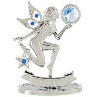 """Сувенир """"знаки зодиака: дева"""", цвет: серебристый, 8,5 см, Crystocraft"""