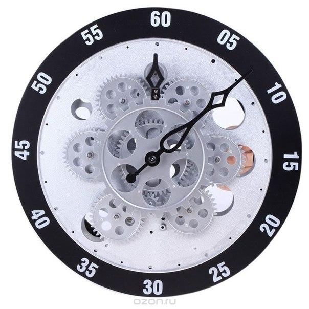 "Часы настенные ""шестеренки"", диаметр 30 см. 551922, Sima-land"