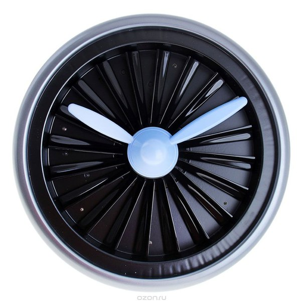 "Часы настенные ""турбина"", диаметр 35 см. 633621, Sima-land"