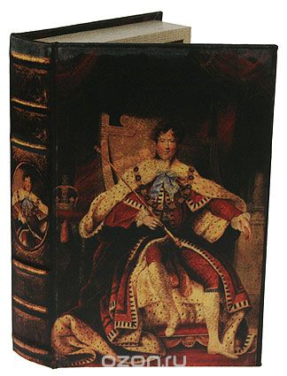 "Шкатулка-фолиант ""портрет"", 26 см х 16,5 см х 4,5 см. 184173, Win Max"