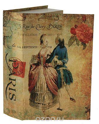 "Шкатулка-фолиант ""портрет"", 27 см х 17,5 см х 6,5 см. 184185, Win Max"