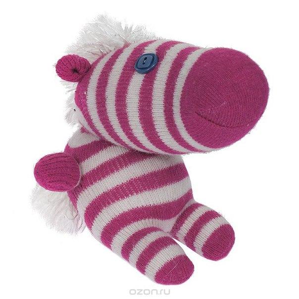 """Авторская игрушка """"носкитос. лошадка сидящая"""" - ручная работа. нос170913-47, Антресоли"""