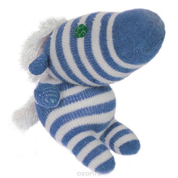 """Авторская игрушка """"носкитос. лошадка сидящая """" - ручная работа. нос170913-50, Антресоли"""