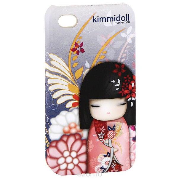"""Чехол для iphone 4/4s  """"норика (доброта и красота)"""", цвет: розовый, фиолетовый. kf0382, Kimmidoll"""