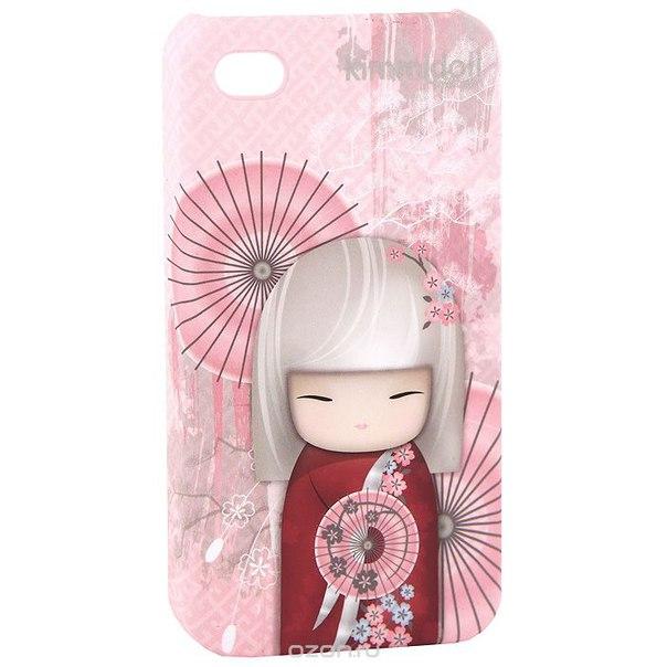 "Чехол для iphone 4/4s ""нами (удача)"", цвет: розовый. kf0383, Kimmidoll"