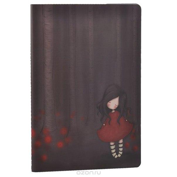 "Блокнот ""poppy wood"", цвет: коричневый. 0013027, Santoro London"