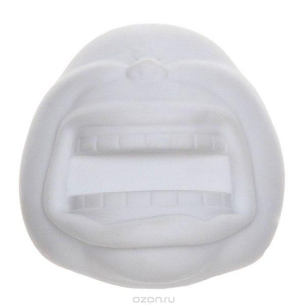 """Держатель для бумаги """"big smile"""", на магнитах, цвет: белый, GIFT IDEA"""
