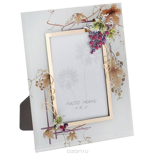 """Рамка для фотографии  """"виноградная лоза"""", 10 см х 15 см. hs-24810a, Jardin d'Ete"""