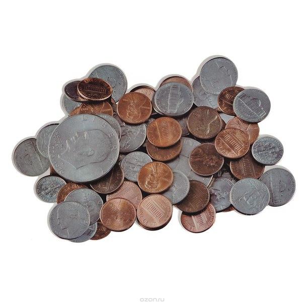 """Коврик для компьютерной мыши """"монеты"""", 27 см х 17 см, Карамба"""