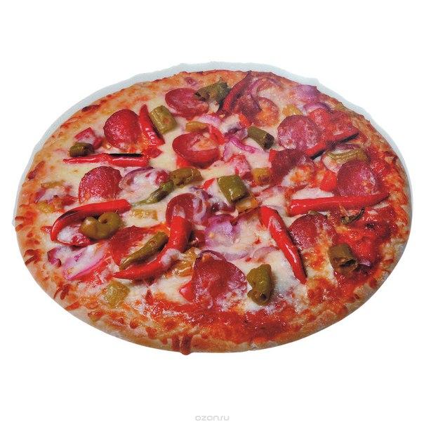 """Коврик для компьютерной мыши """"пицца"""", 26 см х 18,5 см, Карамба"""