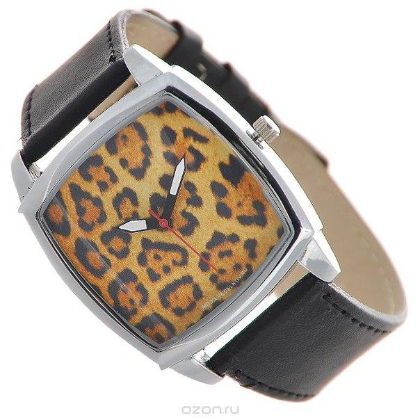 """Часы наручные """"леопардовый принт"""". ch-27, Mitya Veselkov"""