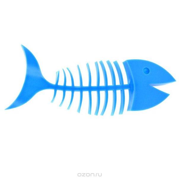 """Мыльница """"рыба"""", цвет: синий, Эврика"""