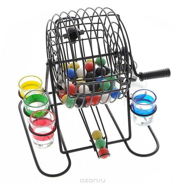 """Игровой набор """"drinking bingo"""" со стопками, Феникс-презент"""