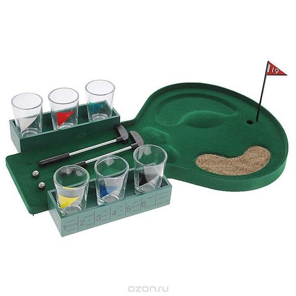 """Игра настольная """"мини гольф"""" со стопками. 24930, Феникс-презент"""