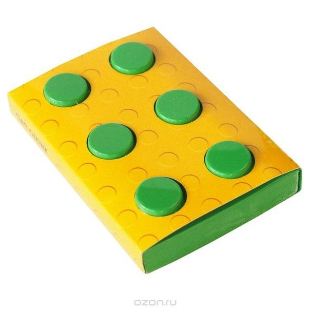 """Блокнот """"конструктор"""", цвет: зеленый, 8 см х 11,5 см. 002876, Карамба"""