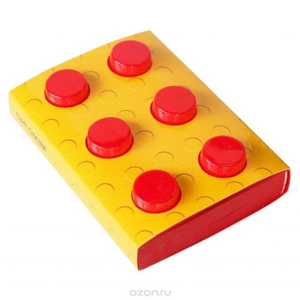 """Блокнот """"конструктор"""", цвет: красный, 8 см х 11,5 см. 002877, Карамба"""