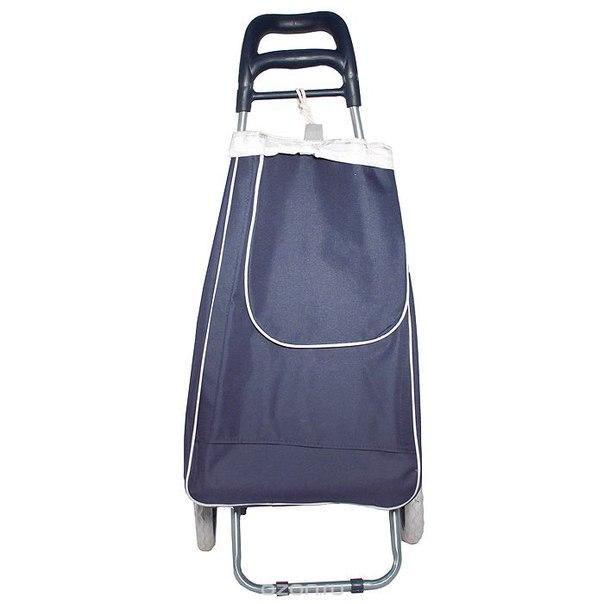 """Сумка для багажа """"перевозчик"""", с колесиками, цвет: темно-синий, Bradex"""