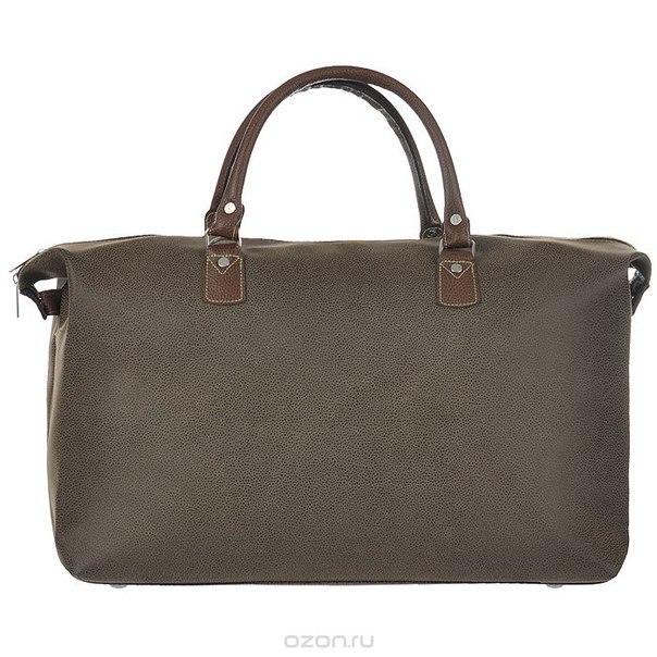 Сумка дорожная, цвет: темно-коричневый, 49 см x 16,5 см x 37 см, Beijing Alex Ltd