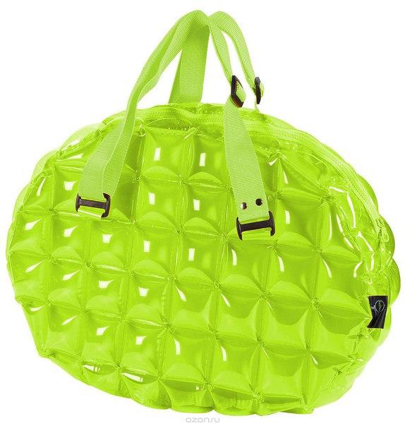 "Сумка надувная спортивная ""inflat decor"", цвет: лайм. 0123, Toy World"