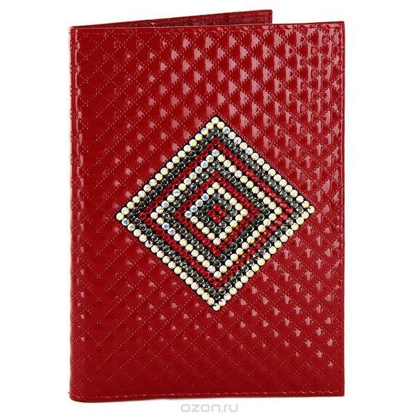 """Бумажник водителя """"алессандра"""", цвет: красный, Elisir"""