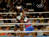 Mark Breland - Olympic boxing welterweight champion - USA - Los Angeles 1984