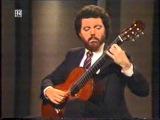 Rare Guitar Video Manuel Barrueco plays Chaconne by J S Bach