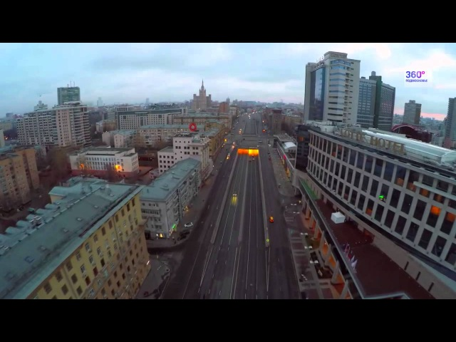 Улицы. Москвы с высоты птичьего полета / Streets Of Moscow As You've Never Seen Before!