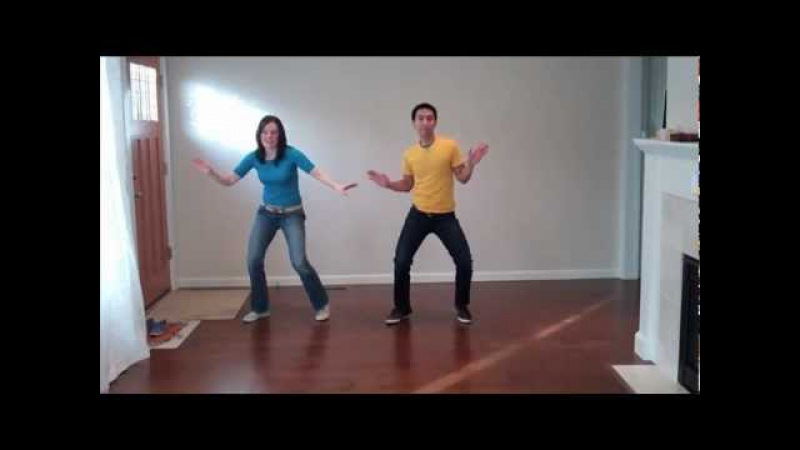 Lindy Hop Steps Made Easy: Wiggles Routine (solo jazz dance moves)