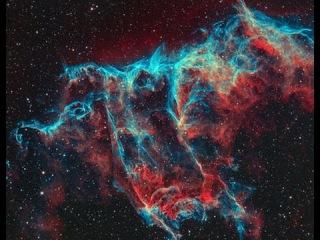 Космос галактики, вселенная звезды, открытый космос, NGC 2244, Atmosphere