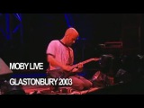 Moby 'Porcelain' Live at Glastonbury