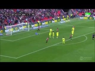 Атлетик Бильбао - Вильярреал 3-2 (6 января 2016 г, 1/8 финала кубка испании)