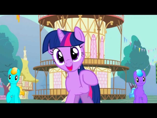 Мой AMV PMV My Little Pony: friendship is magic - Twilight Sparkle RAP ver.2 RUS