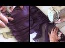 Как сшить мини-юбку из шифона. Часть 3.
