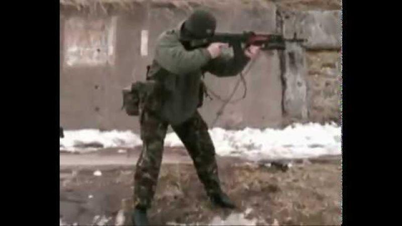 Тактическая и огневая подготовка СпН ГРУ РФ 12 Одиночная. Стрельба из различных положений.