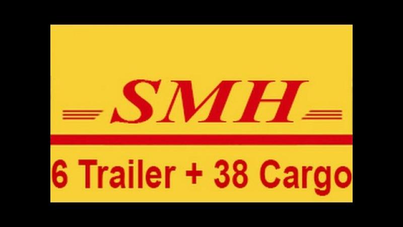 ETS2 6 Trailer 38 Cargo Pack - 6 Dorse ve 38 Kargo 1.21.x