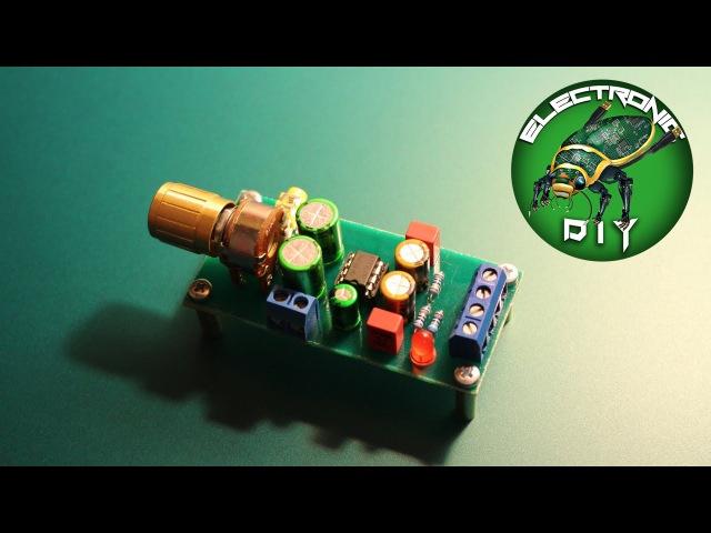Electronic DIY Стерео усилитель на микросхеме TDA2822m