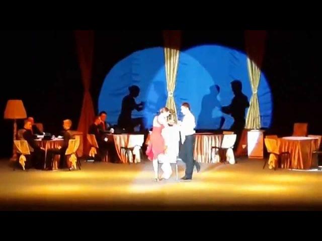 Етюд з танцювальної вистави Tango Bar - Танець офіціанта Флеш
