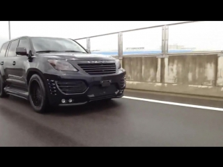 Tuning Body Kit Invader for LexUS LX570