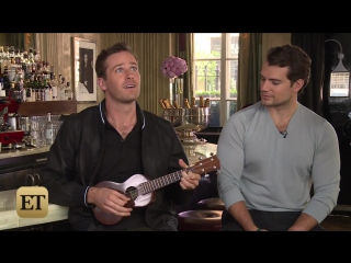 Armie Hammer is Insanely Sexy Playing the Ukelele