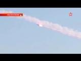 Кадры ракетного удара по игил